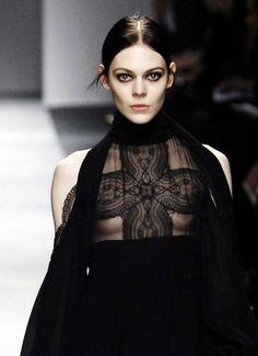 Kinga Rajzak @ Givenchy F/W 2008