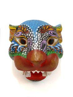 Alebrije Jaguar   Chiapas Bazaar  Fairtrade Mexican Artisanal Collection