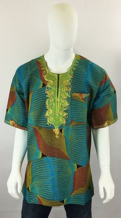 Authentic African Clothes to Celebrate Your Real Culture. Dashiki, Ankara, African, Couture, Blouse, How To Make, Shopping, Clothes, Tops
