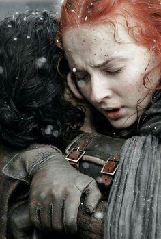 Game of Thrones Season 6 Jon and Sansa's Reunion