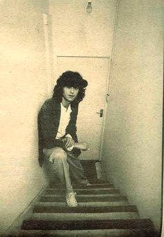 Jimmy, why are you hanging out in a stairwell....???