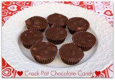 Mommy's Kitchen: Chocolate Buckeyes & Crock Pot Chocolate Candy {Sweets for your Sweetie}