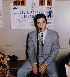 Elvis at the San Francisco Ciric Auditorium Oct 26 1957
