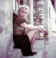 Milton Greene, Marilyn Monroe, hooker sitting
