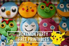 Pokemon party free printables