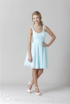 $156 Kennedy Blue Quinn - They let you try a dress for $1; they ship it to your house, you try it on, and then ship it back in a prepaid envelope:  http://www.weddingshoppeinc.com/kennedyblue/find-try-buy