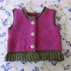 Ravelry: ktaylor's MinnowKnits Orangini Ruffled Vest
