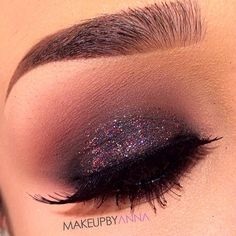 Smokey+glitter=☆perfection♡