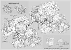 Feng Zhu Design: More 3/4 interior designs by FZD Students (Term 2)