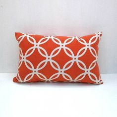 Pillows made from upcycled fabric