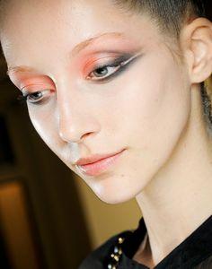 Make-up by Linda Cantello at Armani Privè.