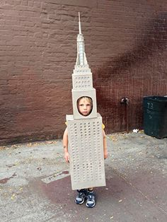 Empire State Building costume by @Tad Hills