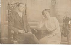 Genealogy Sisters - Mystery Monday – Belfast, Ireland Couple – Photographer, J. Thompson #genealogy