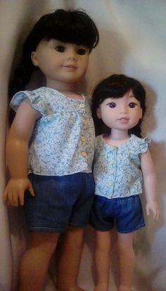 Show & Tell: Dolly & Me Theme - My sister and me
