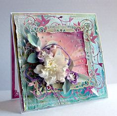 Stunning card, I love the colour palette of this one and there are more beautiful examples on the page
