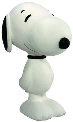 Dark Horse Deluxe Snoopy 8 Flocked Vinyl Figure (Classic White) @ niftywarehouse.com #NiftyWarehouse #Geek #Fun #Entertainment #Products
