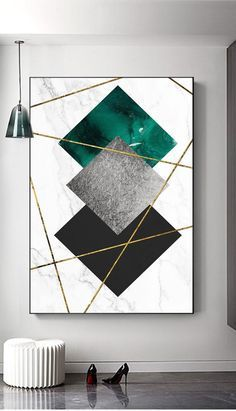 Black And Gold Living Room, Living Room Green, Living Room Decor, Decor Room, Wall Decor, Gold Wall Art, Metal Wall Art, Gold Office Decor, Gold Bedroom