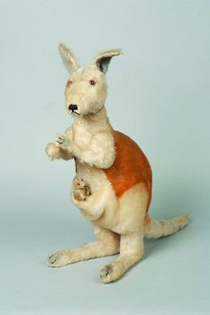 1950's Steiff Kangaroo (My friends and I gave each other stuffed animals as gifts)