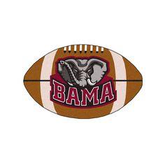 Fanmats Alabama Crimson Tide Rug, Brown