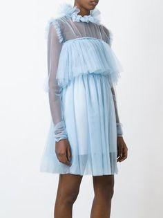 MSGM Semi-transparentes Kleid