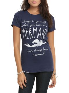 Disney The Little Mermaid Always Be Yourself Girls T-Shirt | Hot Topic