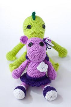 Amigurumi crochet girls