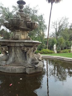 Garden Fountain (Huntington Library)