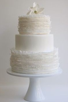 Classic #wedding cake