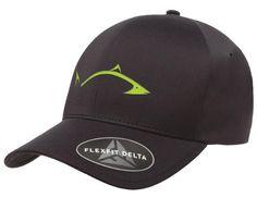 *NEW* Flexfit Black Delta Hat with LC Pro Fish Logo