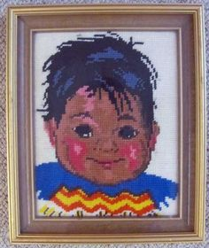 Native American Boy Wall Hanging  On Sale by castillejacotton, $15.00