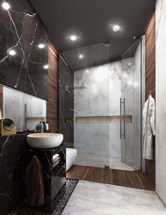 Bathroom Interior Design & Render on Behance – Toptrendpin Wc Design, Bathroom Design Layout, Best Bathroom Designs, Toilet Design, Bathroom Design Luxury, Modern Bathroom Design, Bathroom Ideas, Interior Design Courses Online, Decor Interior Design