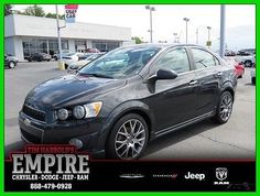 nice 2015 Chevrolet Sonic 4dr Sdn Auto LTZ - For Sale View more at http://shipperscentral.com/wp/product/2015-chevrolet-sonic-4dr-sdn-auto-ltz-for-sale/
