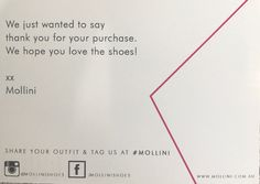 Beautiful card in with Mollini shoes xx