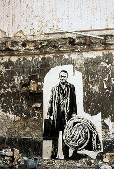 Ernest Pignon-Ernest Expulsions, Paris, France 1978
