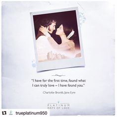 #Repost @trueplatinum950  Mr. Rochesters presence in the room was more cheering than the brightest fire for #JaneEyre. #PlatinumDaysOfLove #WeKnewItWhen  Have you read or come across a love story that has truly inspired you? Wed love to know! #RareLove  #literature #classics #platinum #love #lovestory #book #bookstagram #engaged #truelove #trueplatinum950 #beplatinum #instalove #quotes #quotestoliveby #romance #heart #jewelove
