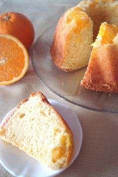 5 Sentidos en la cocina: Bizcocho de naranja