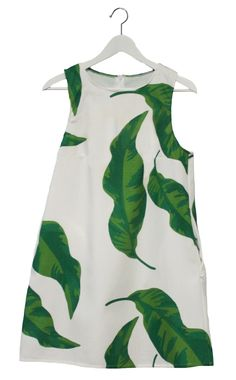 Banana Leaves Shift Dress