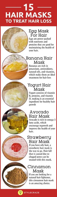 15 Effective Hair Masks To Treat Hair Loss Hair fall is a huge concern for many women across the globe, and if you are one of them, you should know that there are many treatments that can help you deal with this issue. The only problem is that not everyon Yogurt Hair Mask, Banana Hair Mask, Avocado Hair Mask, Home Remedies For Hair, Hair Loss Remedies, Hair Fall Remedy Home, Natural Hair Care, Natural Hair Styles, Thin Hair Styles For Women