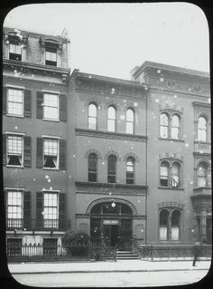 Ottendorfer Library, back in the day