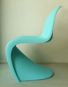 Panton Chair Turquoise :) My new chair Ikea Chair Cushions, Adirondack Chair Cushions, Cheap Adirondack Chairs, Turquoise Furniture, Patchwork Chair, Tommy Bahama Beach Chair, Small Swivel Chair, Panton Chair, Movember