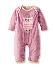 30% OFF Rumble Tumble Baby Owl Plush Coverall (Dusty Burgundy) #apparel #Kids