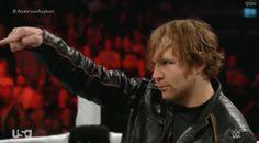 Wwe Gifs, The Shield Wwe, Aj Styles, Dean Ambrose, Asylum, Dimples, Im In Love, Believe, Wrestling