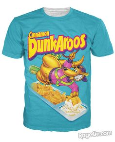 Dunkaroos T-Shirt - RageOn! - The World's Largest All-Over-Print Online Store