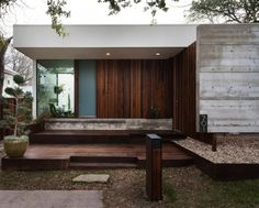 wood outdoor modern glass facade exterior concrete architecture Japanese Trash masculine design obsession inspiration