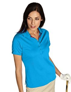 Flutter 100596 Womens Performance Golf Polo by Antigua. Buy it @ ReadyGolf.com