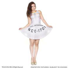 STAR TREK: NCC-1701 Fashion Dress (Pre-Order)