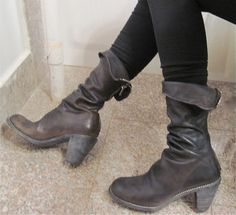 I tried these boots on in Paris. I wanted them so bad!