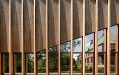 Underbart museum av MX_SI, foto Pedro Pegenaute – http://www.tidningentra.se/reportage/industriell-precision-och-lokalt-hantverk #arkitektur i #trä