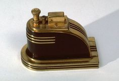 Since seeing one of these in the movie Mildred Pierce I've wanted one. Ronson touch tip lighter. Mildred Pierce, Vintage Ashtray, Smoking Accessories, Muffin Cups, Vintage Stuff, Industrial Design, Lighter, Chrome, Touch