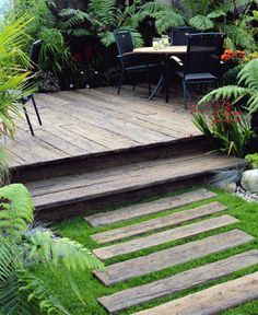 First Steps in Garden Design eco friendly decking solution3 · Most Inspiring Backyards On The Web